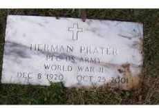 PRATER, HERMAN - Adams County, Ohio   HERMAN PRATER - Ohio Gravestone Photos