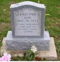 PRICE, SARAH - Adams County, Ohio | SARAH PRICE - Ohio Gravestone Photos