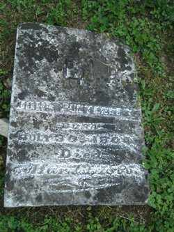 PUNTENNEY, JOHN - Adams County, Ohio | JOHN PUNTENNEY - Ohio Gravestone Photos