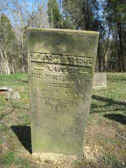 PUNTENNEY, MARGARET - Adams County, Ohio | MARGARET PUNTENNEY - Ohio Gravestone Photos