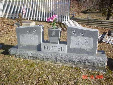 PURTEE, DORA MAE - Adams County, Ohio | DORA MAE PURTEE - Ohio Gravestone Photos