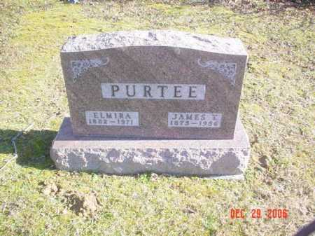 PURTEE, ELMIRA - Adams County, Ohio   ELMIRA PURTEE - Ohio Gravestone Photos