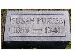 PURTEE, SUSAN - Adams County, Ohio | SUSAN PURTEE - Ohio Gravestone Photos