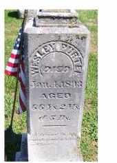 PURTEE, WESLEY - Adams County, Ohio | WESLEY PURTEE - Ohio Gravestone Photos