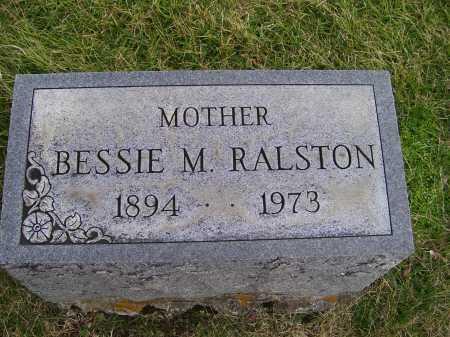 RALSTON, BESSIE M. - Adams County, Ohio | BESSIE M. RALSTON - Ohio Gravestone Photos