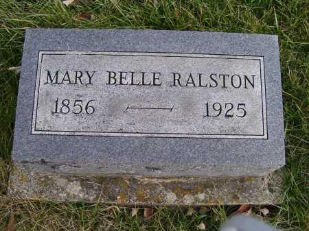 RALSTON, MARY BELLE - Adams County, Ohio | MARY BELLE RALSTON - Ohio Gravestone Photos