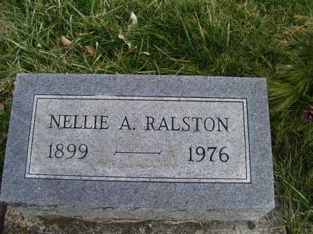 RALSTON, NELLIE A. - Adams County, Ohio | NELLIE A. RALSTON - Ohio Gravestone Photos