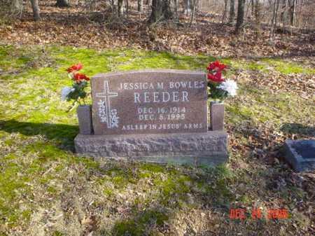 BOWLES REEDER, JESSICA M. - Adams County, Ohio | JESSICA M. BOWLES REEDER - Ohio Gravestone Photos