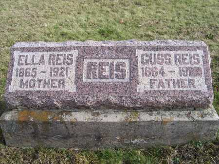 REIS, GUSS - Adams County, Ohio | GUSS REIS - Ohio Gravestone Photos