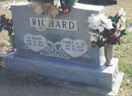 RICHARD, G. MARIE - Adams County, Ohio | G. MARIE RICHARD - Ohio Gravestone Photos
