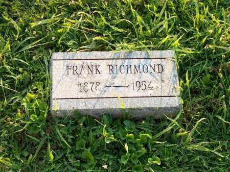 RICHMOND, FRANK - Adams County, Ohio   FRANK RICHMOND - Ohio Gravestone Photos