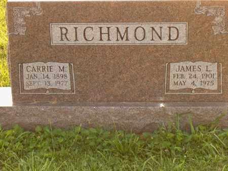 SMITH RICHMOND, CARRIE M - Adams County, Ohio | CARRIE M SMITH RICHMOND - Ohio Gravestone Photos