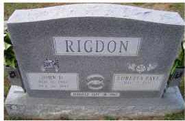 RIGDON, JOHN D. - Adams County, Ohio   JOHN D. RIGDON - Ohio Gravestone Photos