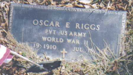 RIGGS, OSCAR E. - Adams County, Ohio | OSCAR E. RIGGS - Ohio Gravestone Photos