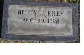 RILEY, BETTY J. - Adams County, Ohio | BETTY J. RILEY - Ohio Gravestone Photos