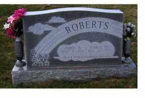 ROBERTS, JOHN A. - Adams County, Ohio | JOHN A. ROBERTS - Ohio Gravestone Photos