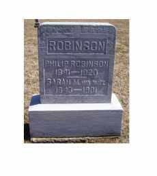 ROBINSON, PHILIP - Adams County, Ohio | PHILIP ROBINSON - Ohio Gravestone Photos