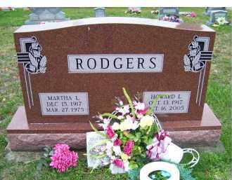 RODGERS, HOWARD L. - Adams County, Ohio | HOWARD L. RODGERS - Ohio Gravestone Photos