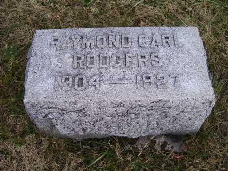 RODGERS, RAYMOND CARL - Adams County, Ohio | RAYMOND CARL RODGERS - Ohio Gravestone Photos