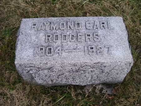 RODGERS, RAYMOND CARL - Adams County, Ohio | RAYMOND CARL RODGERS - Ohio Gravestone Photos