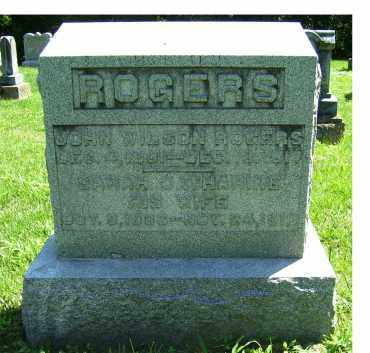 ROGERS, SARAH CATHARINE - Adams County, Ohio | SARAH CATHARINE ROGERS - Ohio Gravestone Photos