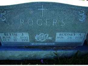 ROGERS, RODNEY A, - Adams County, Ohio | RODNEY A, ROGERS - Ohio Gravestone Photos