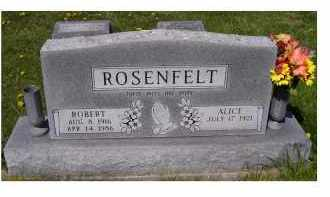 ROSENFELT, ALICE - Adams County, Ohio | ALICE ROSENFELT - Ohio Gravestone Photos