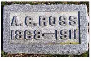 ROSS, A. C. - Adams County, Ohio   A. C. ROSS - Ohio Gravestone Photos