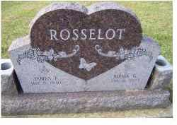 ROSSELOT, JAMES F. - Adams County, Ohio   JAMES F. ROSSELOT - Ohio Gravestone Photos