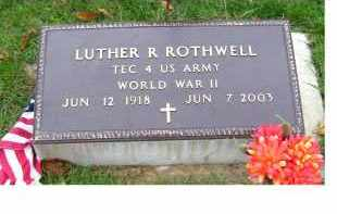 ROTHWELL, LUTHER R. - Adams County, Ohio | LUTHER R. ROTHWELL - Ohio Gravestone Photos