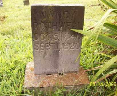 ROTHWELL, NANCY - Adams County, Ohio   NANCY ROTHWELL - Ohio Gravestone Photos
