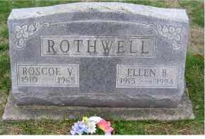 ROTHWELL, ELLEN B. - Adams County, Ohio   ELLEN B. ROTHWELL - Ohio Gravestone Photos