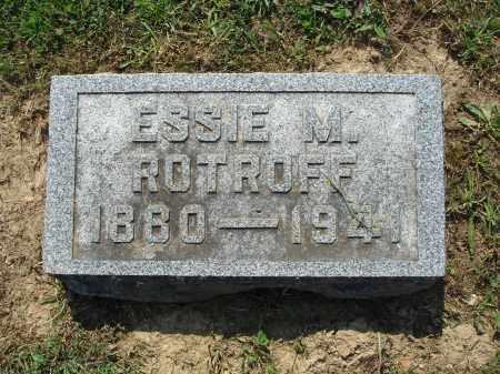 ROTROFF, ESSIE M. - Adams County, Ohio | ESSIE M. ROTROFF - Ohio Gravestone Photos