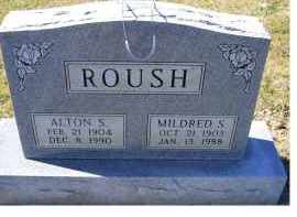 ROUSH, MILDRED S. - Adams County, Ohio | MILDRED S. ROUSH - Ohio Gravestone Photos