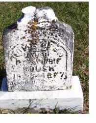 ROUSH, UNKNOWN - Adams County, Ohio   UNKNOWN ROUSH - Ohio Gravestone Photos