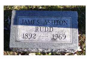 RUDD, JAMES ASHTON - Adams County, Ohio | JAMES ASHTON RUDD - Ohio Gravestone Photos