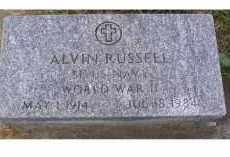RUSSELL, ALVIN - Adams County, Ohio | ALVIN RUSSELL - Ohio Gravestone Photos
