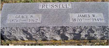 RUSSELL, GRACE N. - Adams County, Ohio | GRACE N. RUSSELL - Ohio Gravestone Photos