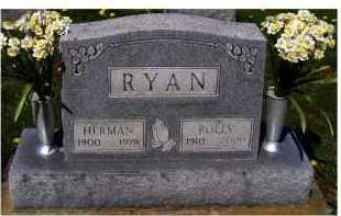 RYAN, HERMAN - Adams County, Ohio | HERMAN RYAN - Ohio Gravestone Photos