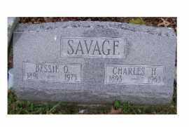 SAVAGE, BESSIE O. - Adams County, Ohio   BESSIE O. SAVAGE - Ohio Gravestone Photos