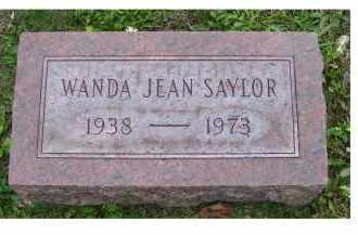 SAYLOR, WANDA JEAN - Adams County, Ohio   WANDA JEAN SAYLOR - Ohio Gravestone Photos