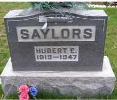 SAYLORS, HUBERT E. - Adams County, Ohio   HUBERT E. SAYLORS - Ohio Gravestone Photos