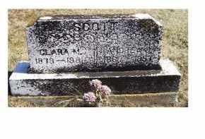 SCOTT, CLARA M. - Adams County, Ohio | CLARA M. SCOTT - Ohio Gravestone Photos