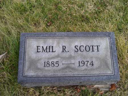 SCOTT, EMIL R. - Adams County, Ohio   EMIL R. SCOTT - Ohio Gravestone Photos
