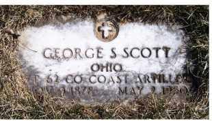 SCOTT, GEORGE S. - Adams County, Ohio | GEORGE S. SCOTT - Ohio Gravestone Photos