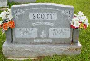 SCOTT, JASPER RAY - Adams County, Ohio | JASPER RAY SCOTT - Ohio Gravestone Photos