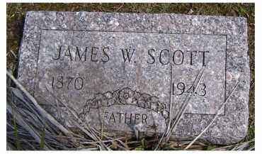 SCOTT, JAMES W. - Adams County, Ohio | JAMES W. SCOTT - Ohio Gravestone Photos