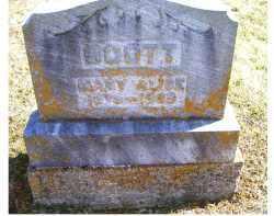 SCOTT, MARY ALICE - Adams County, Ohio | MARY ALICE SCOTT - Ohio Gravestone Photos