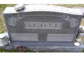 SCOTT, WM. EARL - Adams County, Ohio   WM. EARL SCOTT - Ohio Gravestone Photos