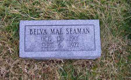 SEAMAN, BELVA MAE - Adams County, Ohio   BELVA MAE SEAMAN - Ohio Gravestone Photos